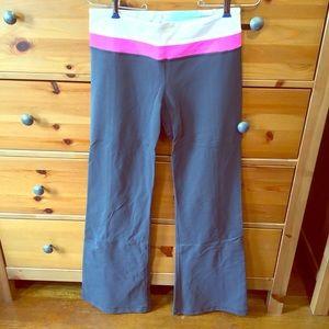 Wide leg fitness pants